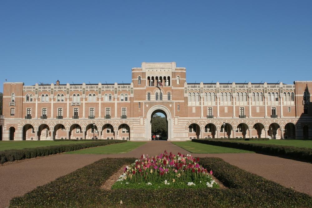 Rice University building.